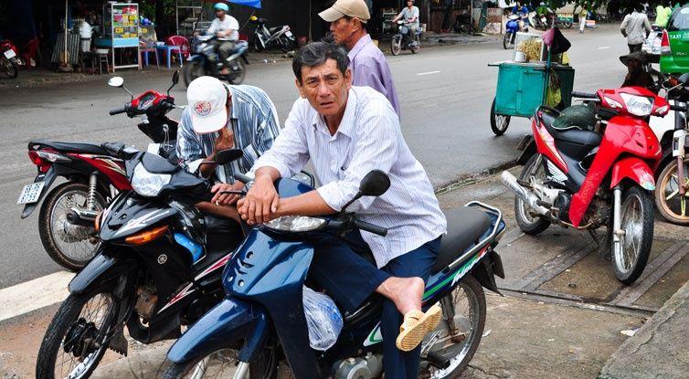 xe om - getting around mui ne