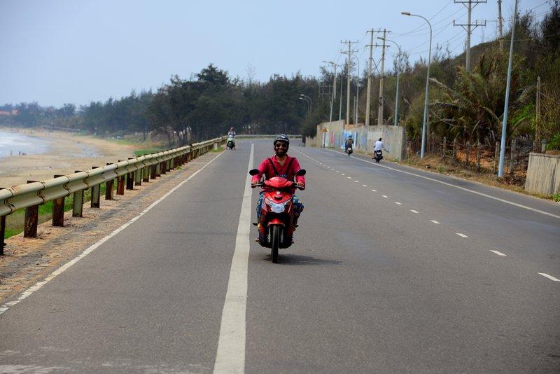 motobike - getting around mui ne