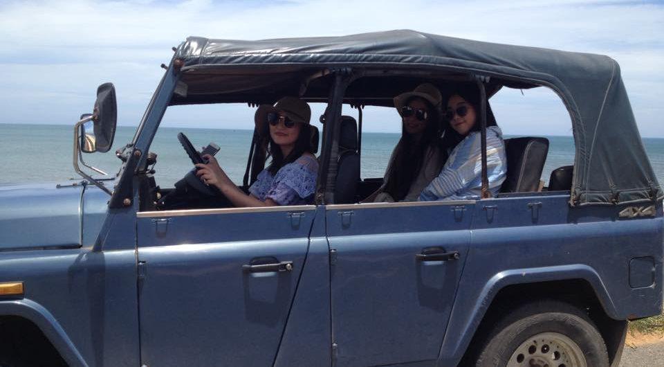 Sand dunes jeep tour Mui Ne
