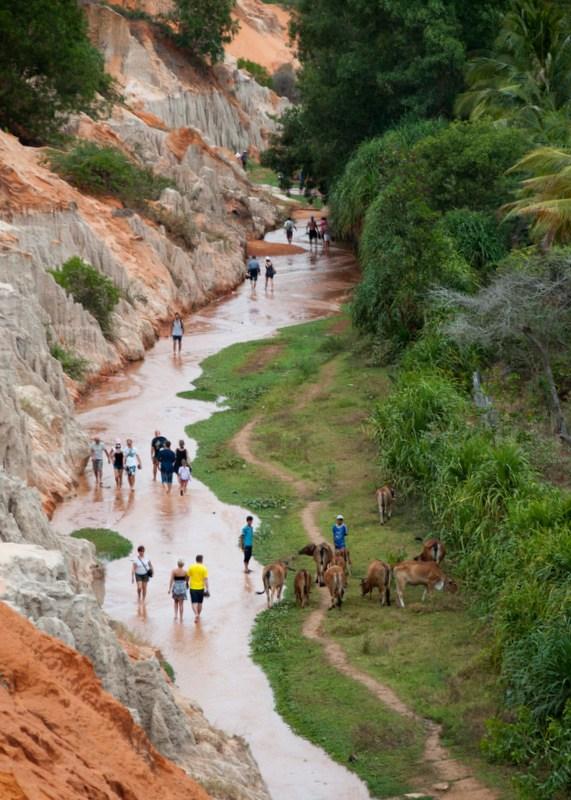 Fairy Stream in Mui Ne ward
