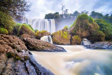 Elephant waterfall